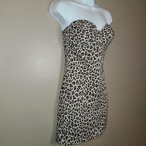 2/$35🔥 Nancy Ganz Leopard Print Shapewear Dress